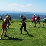 1 obóz sportowy w Bieszczadach