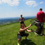 9 obóz sportowy w Bieszczadach