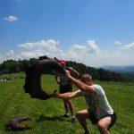 29 obóz sportowy w Bieszczadach