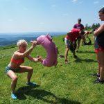 bulgarian bag poznaniu 23 obóz sportowy w Bieszczadach