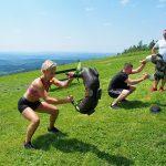 24 obóz sportowy w Bieszczadach