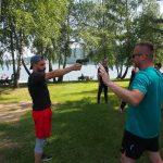 35 obóz sportowy w Bieszczadach
