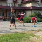 45 obóz sportowy w Bieszczadach