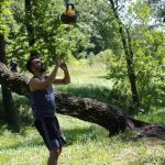 2 żonglerka kettlebell