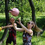 4 żonglerka kettlebell