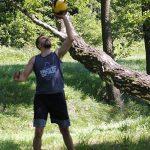 7 żonglerka kettlebell